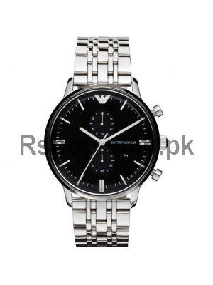 Emporio Armani Men's Chronograph Stainless Steel Watch Ar0389   (Same as Original)