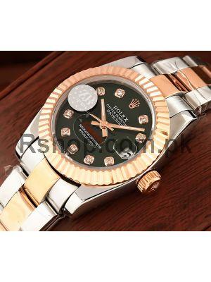 Rolex Lady Datejust Two Tone Watch