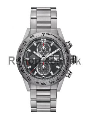 TAG Heuer Carrera Calibre HEUER 01 Gray Dial Watch