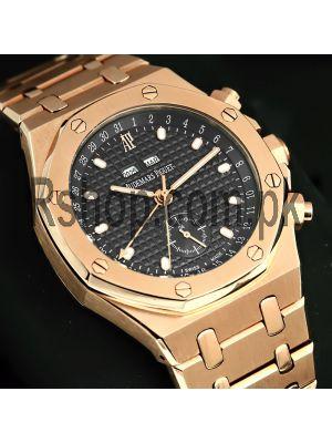 Audemars Piguet Royal Oak Offshore Triple Date Black Dial Watch Price in Pakistan