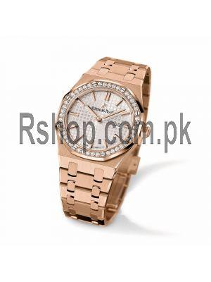 Audemars Piguet Royal Oak White Dial Ladies Watch Price in Pakistan