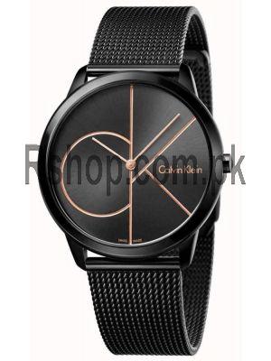 Calvin Klein Mens Minimal Black Watch Price in Pakistan
