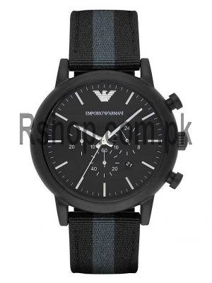 Emporio Armani Chronograph Black Dial Men's Watch AR1948  (Same as Original) Price in Pakistan