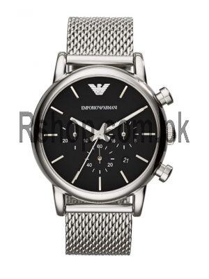 Emporio Armani Men's AR1811 Silver Watch AR1811  (Same as Original)