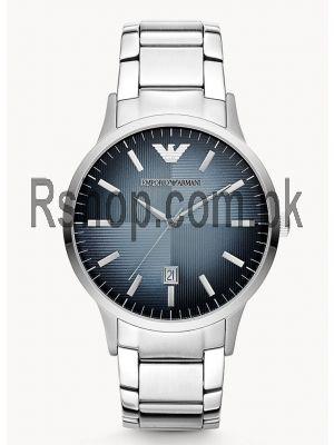 Emporio Armani Three-Hand Date Stainless Steel Watch AR11182  (Same as Original)