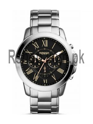 Fossil Grant Chronograph Stainless Steel Watch FS4994   (Same as Original) Price in Pakistan