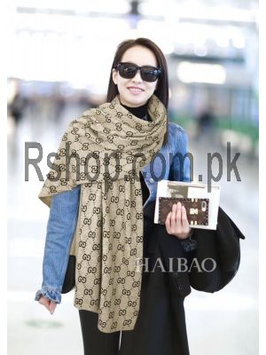 Gucci Cashmere Wool Scarf  (High Quality) Price in Pakistan