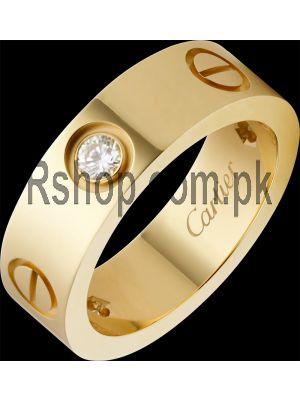 Cartier Love Ring witn 3 Diamonds Price in Pakistan