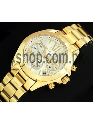 Michael Kors MK-6267 Mini Bradshaw Gold-Tone Watch Price in Pakistan