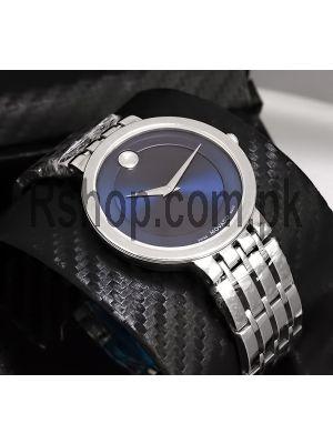 Movado Men's Blue Dial Watch Price in Pakistan