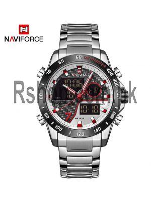 NAVIFORCE Dual Time Watch For Men's NF9171 Watch Price in Pakistan