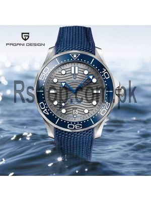 Pagani Design Seamaster Homage Automatic Diving Watch PD1685 Price in Pakistan