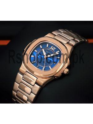 Patek Philippe Nautilus Blue Dial Ladies Watch Price in Pakistan