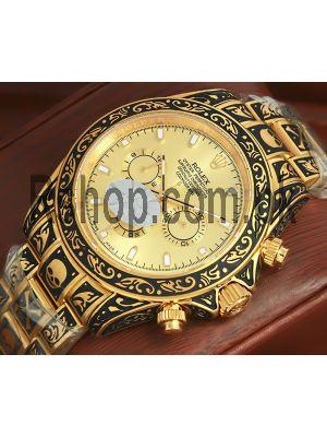 Rolex Cosmograph Daytona Hand-Engraved Watch Price in Pakistan