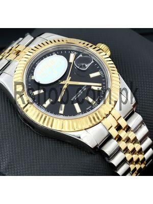 Rolex Datejust Two Tone ETA 2836 Watch Price in Pakistan