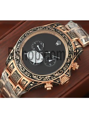 Rolex Hand-engraved Watch Price in Pakistan