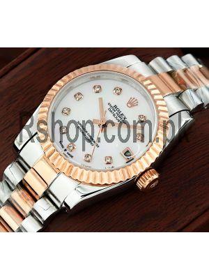 Rolex Lady-Datejust MOP Diamond Dial Watch Price in Pakistan