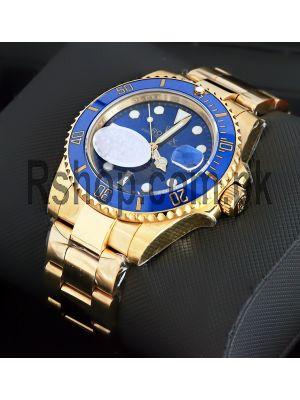 Rolex Submariner Blue Dial Watch (Swiss Quality ETA Movement 2836) Price in Pakistan