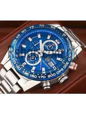 TAG Heuer Carrera Calibre HEUER 01 Blue Dial Watch Price in Pakistan