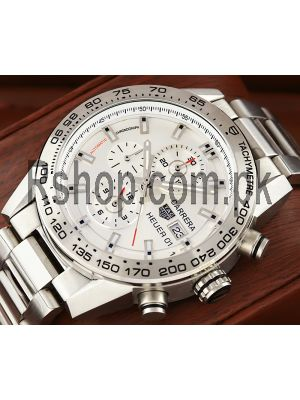 Tag Heuer Carrera Calibre Heuer 01 Silver Dial Watch Price in Pakistan
