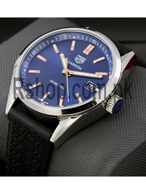 Tag Heuer Carrera Quartz Blue Dial  Watch Price in Pakistan