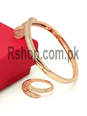 Bvlgari Bracelet With Ring ( High Quality ) Price in Pakistan